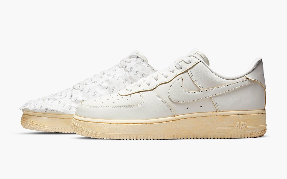 """The Nike Air Force 1 Low """"Keep 'Em Fresh"""" Comes Vintage Dyed ..."""