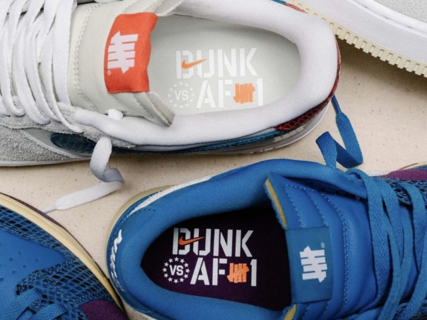 UNDFTD Unveils its Next Nike Dunk and Air Force 1 Project