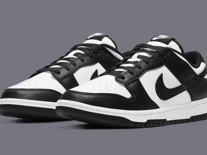Nike Dunk Low 'Black/White' - Online Drop List & Release Info