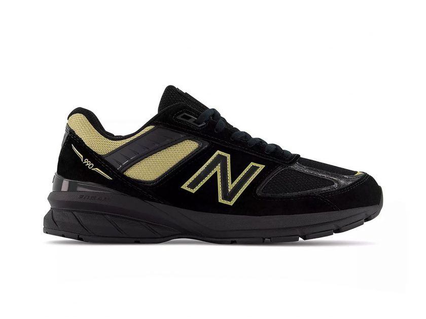 The New Balance 990v5 Surfaces in Black & Gold