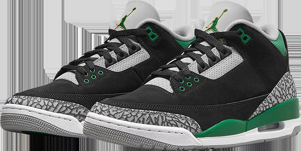 Air Jordan 3 Retro 'Pine Green'
